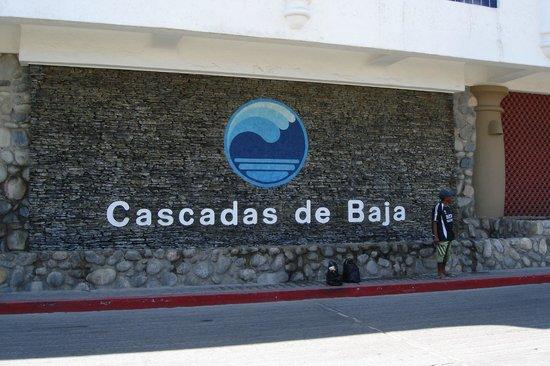 Club Cascadas de Baja: Entrance