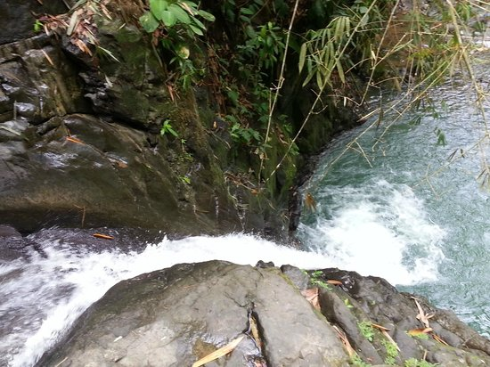 Uvita Waterfall: View from the top