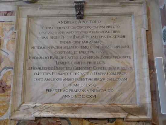 Duomo di Sant'Andrea : Saint Andrew