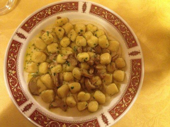 L'Osteria del Pinzagrilli : gnocchi