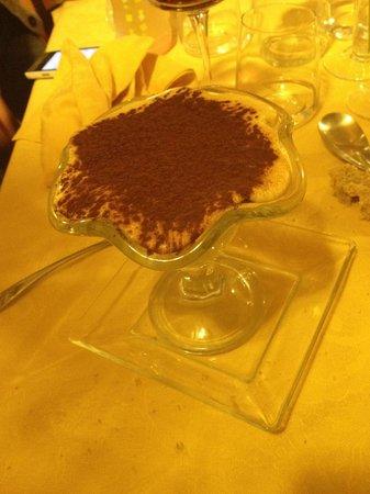 L'Osteria del Pinzagrilli : tiramisù