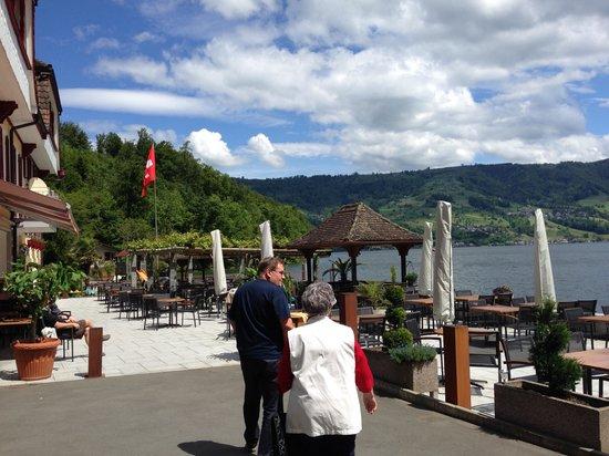 Restaurant baumgarten immensee picture of see for Baum garten