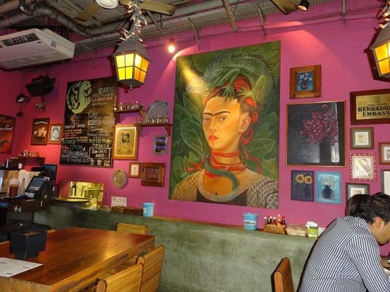 Frida at Cafe Iguana!
