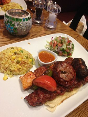 Cambaz Bar and Chargrill: Mixed Grill