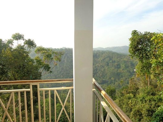 Spice Country Resorts: View from balcony