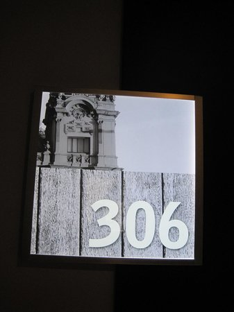 Leonardo Boutique Hotel Barcelona Sagrada Familia: room numbers