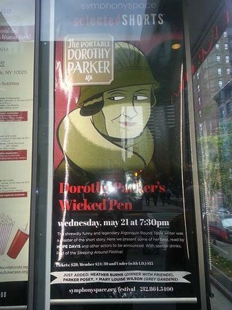 Poster for Selected Shorts Program at Symphony Space