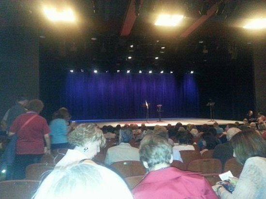 """Stage for """"Selected Shorts"""" Program at Symphony Space"""