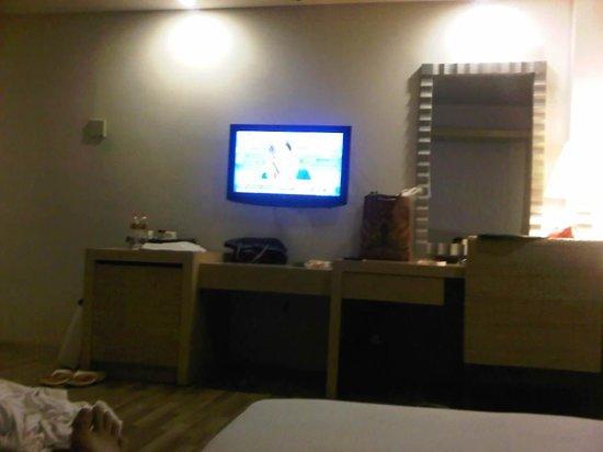Le Grande Bali : room deluxe