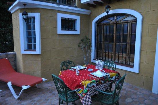 Hostal Las Margaritas: Terrazzino