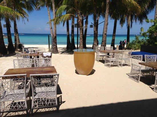 Discovery Shores Boracay: ontbijten met dit uitzicht