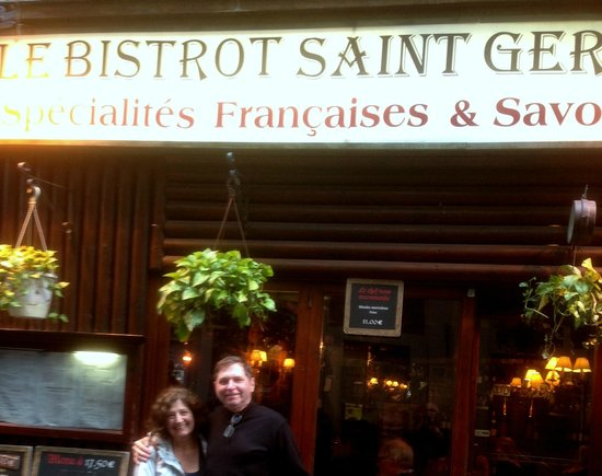 Le Bistrot St. Germain : In Front of Le Bistrot St Germain