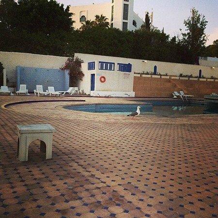 Les Omayades Hotel: Бассейн