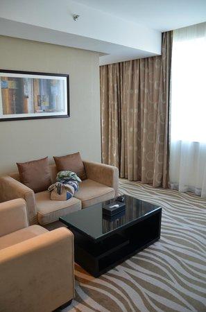 Cristal Hotel Abu Dhabi: Receiving Area