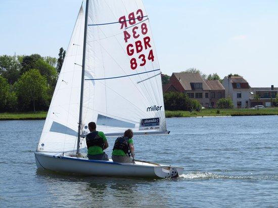 Aan de Plas: sailing