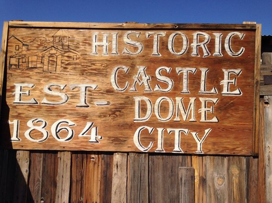 Castle Dome Mines Museum & Ghost Town: Entrance
