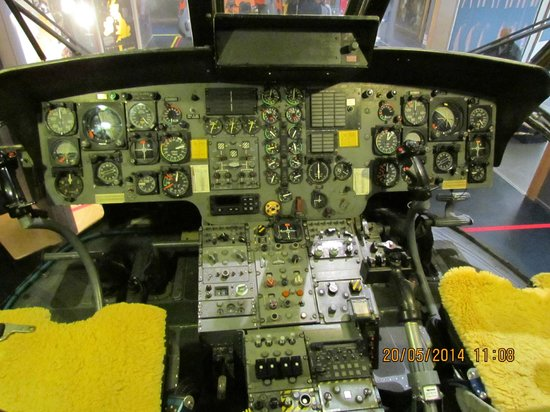 National Maritime Museum Cornwall: Sea King pointy end (flight deck)