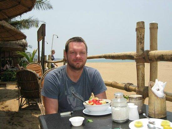 Agonda White Sand: Breakfast