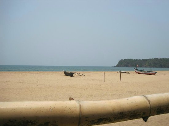 Agonda White Sand: Right on the beautiful Agonda Beach