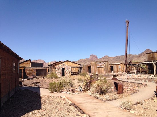 Castle Dome Mines Museum & Ghost Town: Ghost Town