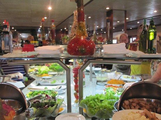 Churrascaria Oasis : Oasis Churrascaria - Le buffet
