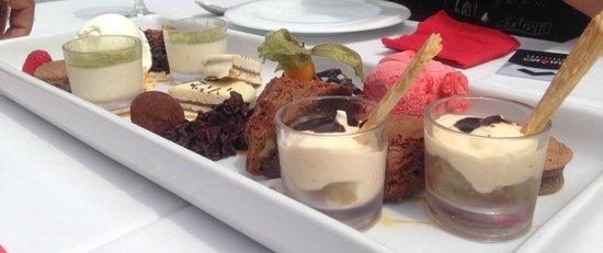 Shoko : Dessert tasting