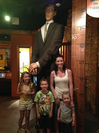 Ripley's Believe It Or Not! Surfers Paradise: Tallest man