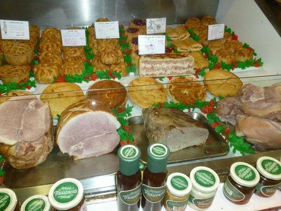 Oxford Covered Market: Foodie displays