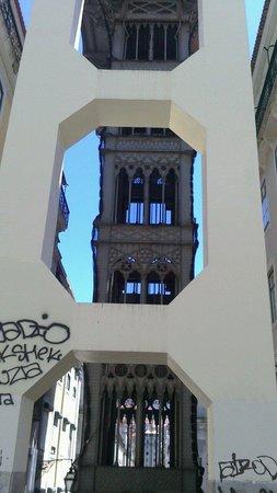 Santa Justa Lift : Santa Justa Elevador