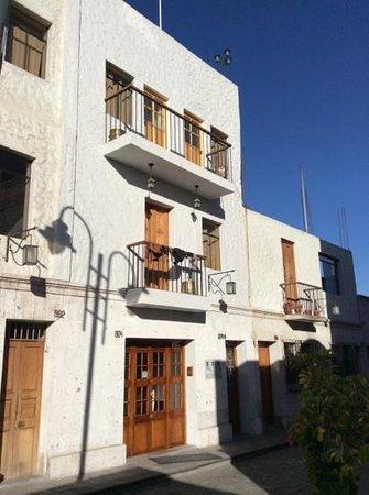 Tambo del Solar Hotel: la facade