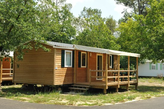 Camping Azu'rivage : Mobil-home