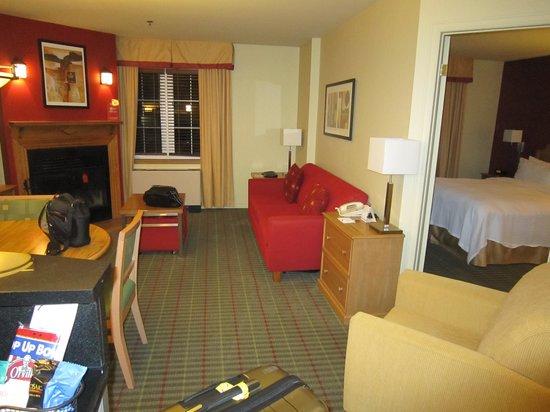 Residence Inn Mont Tremblant Manoir Labelle : La suite