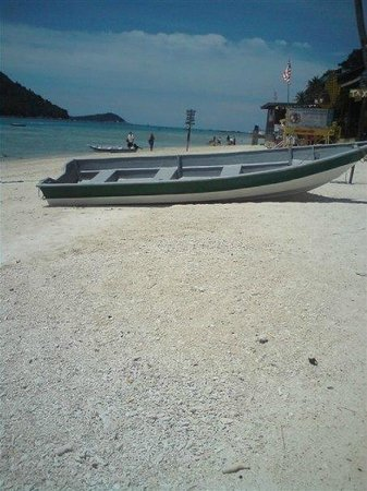Perhentian Tuna Bay Island Resort: Boat Taxi!