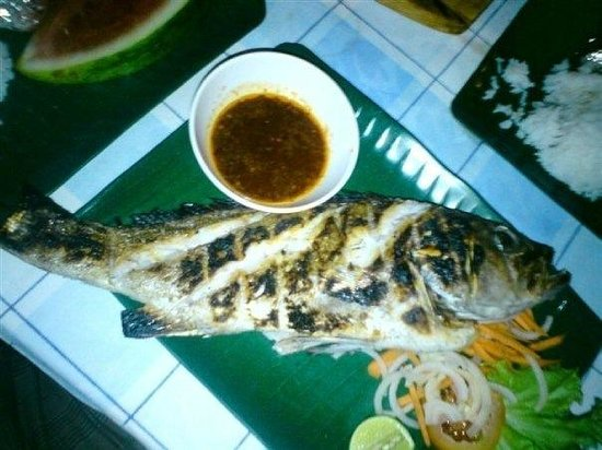 Perhentian Tuna Bay Island Resort: My delicious fish!