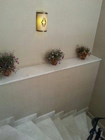 Raymond Blue Hotel: Stairs
