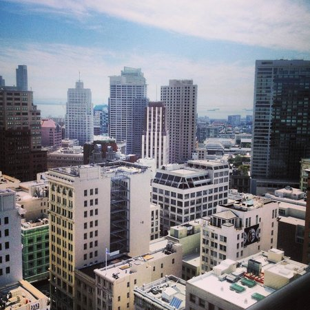 Grand Hyatt San Francisco: View from my Room