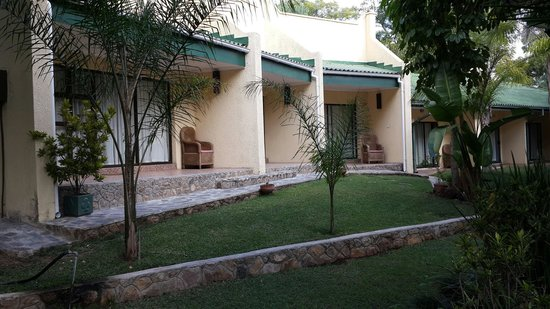 Sethule Lodge : Over looking executive rooms