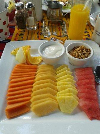 La Vagabunda: Boa fruta ao P.almoco o preferido da Goreti & Isabel