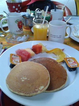 La Vagabunda: Mais um desajuno....