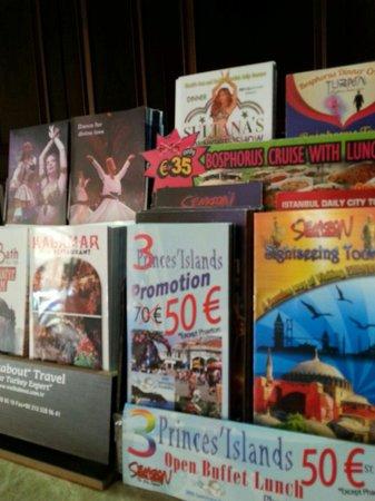 Raymond Blue Hotel: The programmes