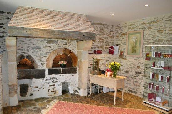 Château de l'Epinay : L'entrée du spa