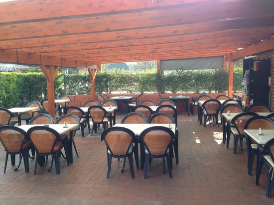 Restaurant Thassos: Restaurant Terrasse