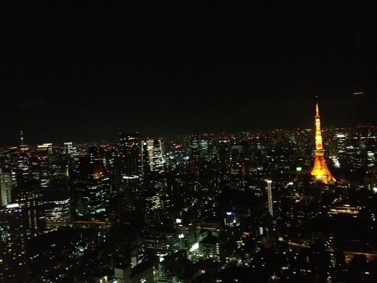 Ryokan Shizumasa : Wonderful tokyo view from Roppongi hills