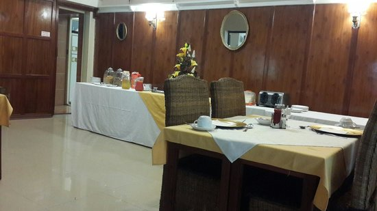 Sethule Lodge : Dining room