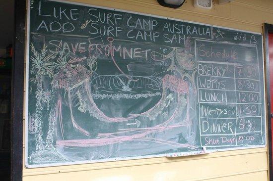 Surf Camp Australia: Schedule