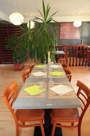 Comfort Hotel Grenoble Saint Egreve : dinnig room