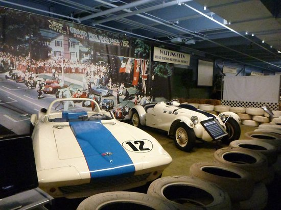 Simeone Foundation Automotive Museum: Watkins Glen Display