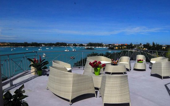 Le Lagon Hotel Restaurant: vue mer terrasse