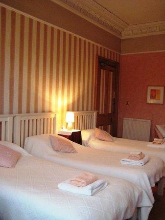 Teviotdale House: Triple/quad room en suite