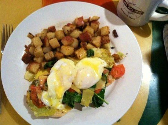 Cafe This Way : Eggs Florentine Benedict!
